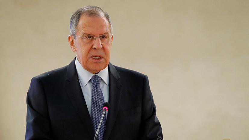 Лавров заявил об ухудшении ситуации для террористов в Сирии