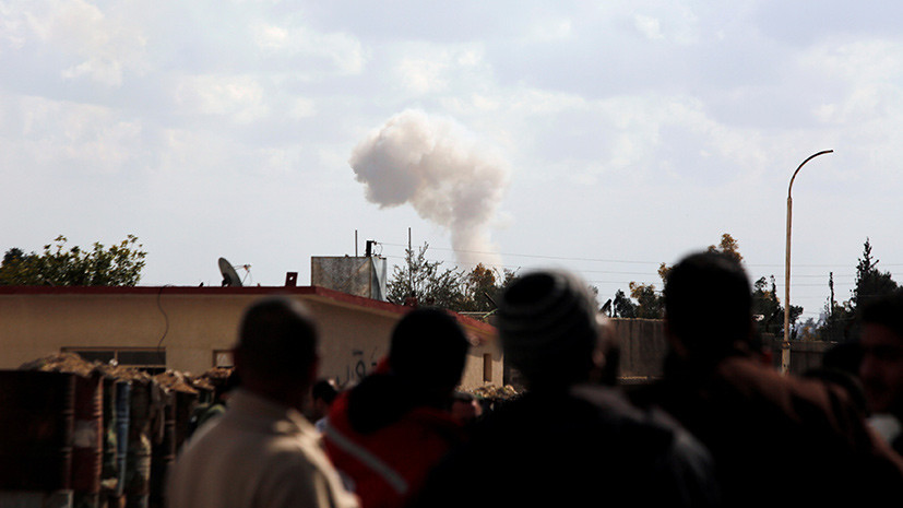 Центр примирения: жители вторые сутки не могут покинуть Восточную Гуту из-за обстрелов боевиков