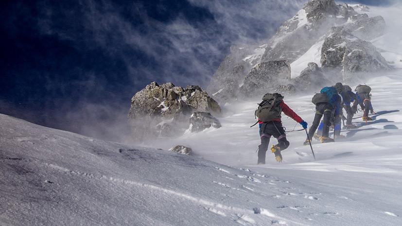 В МЧС поступило заявление о пропаже туриста на перевале Дятлова