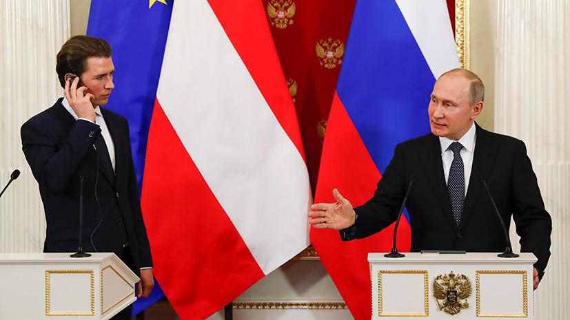Путин о санкциях против России: это бессмысленное и вредное занятие