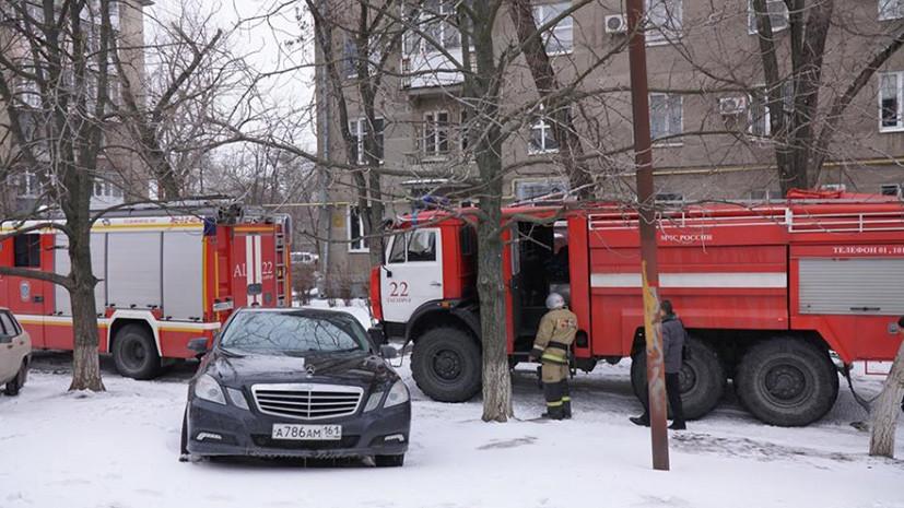 Источник: взрыв произошёл в жилом доме в Таганроге