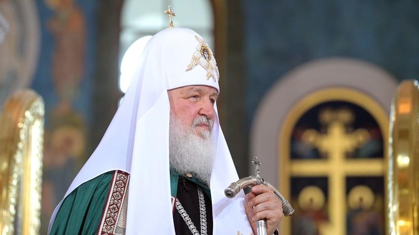 Патриарх Кирилл назвал подвигом победу российских хоккеистов на Олимпиаде в Пхёнчхане