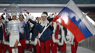 Российская олимпийская сборная, 2014 год
