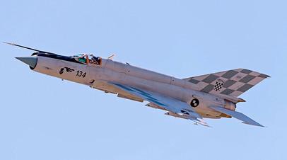 МиГ-21 хорватских ВВС
