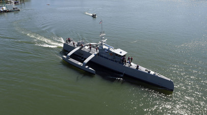 Надводный морской беспилотник «Морской охотник»