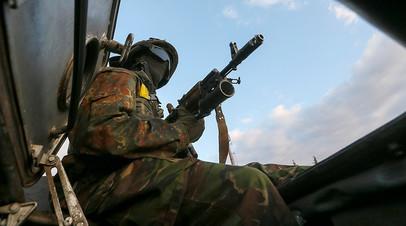 Украинский десантник