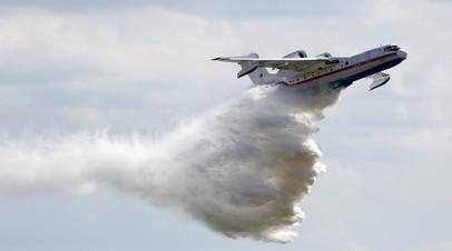 Российский самолёт-амфибия Бе-200 «Альтаир»