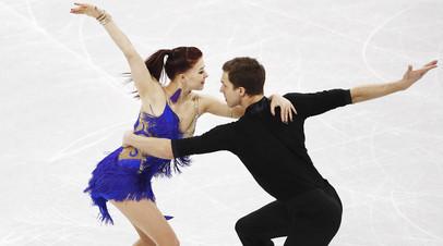 Екатерина Боброва с Дмитрием Соловьёвым