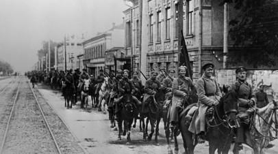 Конница Красной армии во время Гражданской войны