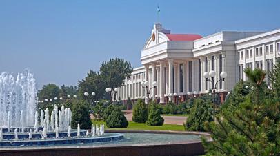 Здание Сената Олий Мажлиса в Ташкенте
