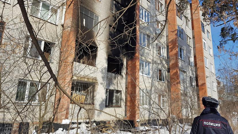 Источник: при пожаре в жилом доме Подмосковья погибли два человека