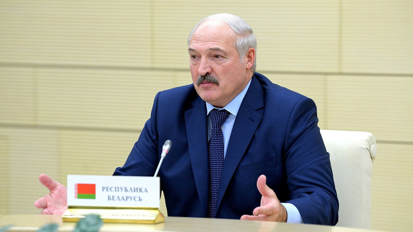 Лукашенко: Белоруссия ответит России на ограничения поставок молока