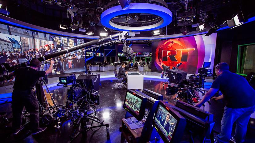 RT возглавил рейтинг топ-СМИ в Mediametrics за февраль