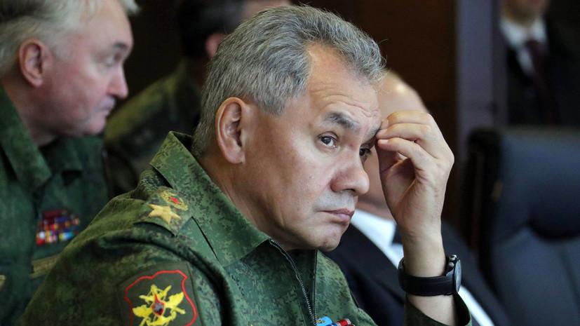Шойгу прокомментировал стоимость разработки новейшего российского оружия цитатой из Высоцкого