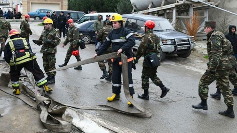 При пожаре в наркологическом центре в Баку погибли 24 человека