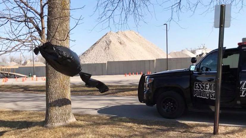 В американском штате Мичиган мужчина вызвал полицию из-за дементора