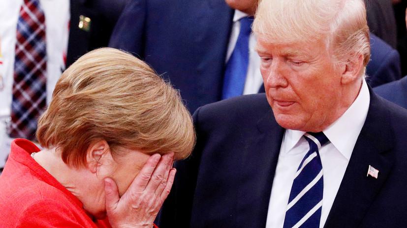 Меркель и Трамп обеспокоены заявлениями Путина о новом российском оружии