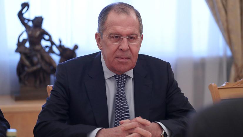 Лавров призвал отказаться от «двойных стандартов» в вопросах борьбы с терроризмом