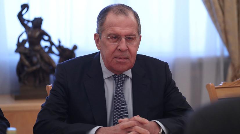 Лавров заявил, что Россия следит за развитием ситуации в Йемене
