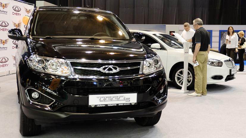 Названы самые популярные в России китайские автомобили