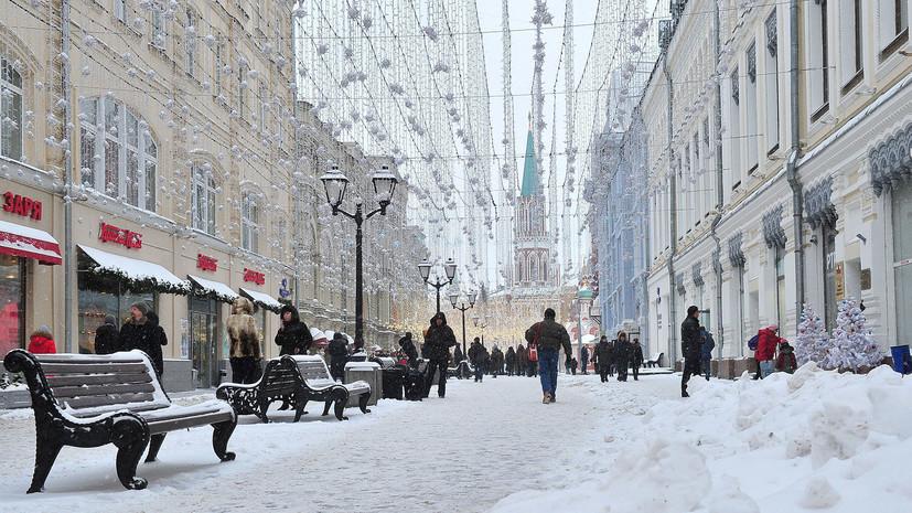 Синоптик рассказал, что начавшийся в Москве снегопад может продлиться почти сутки