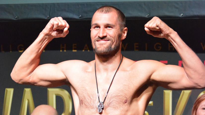 Боксёр Ковалёв победил Михалкина и защитил титул WBO в полутяжёлом весе