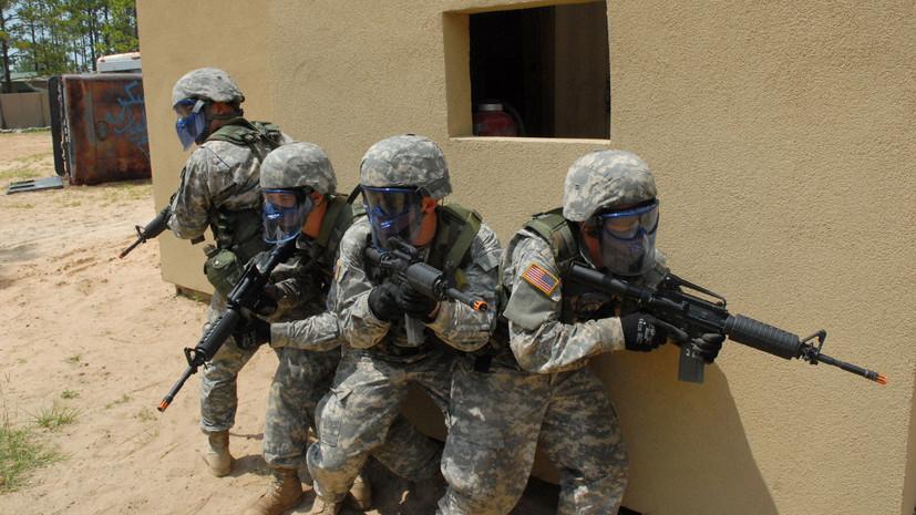 СМИ сообщили о секретном полигоне на Украине, где специалисты из США обучают солдат ВСУ