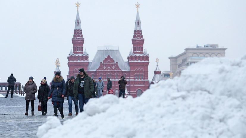 Московская транспортная система подверглась испытанию снегопадом»