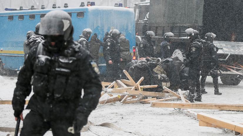 «Ответ не заставит себя долго ждать»: как украинские политики отреагировали на столкновения у стен Рады