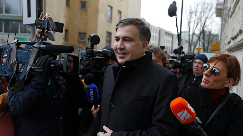 Саакашвили призвал сторонников вернуться к власти в Грузии в 2018 году