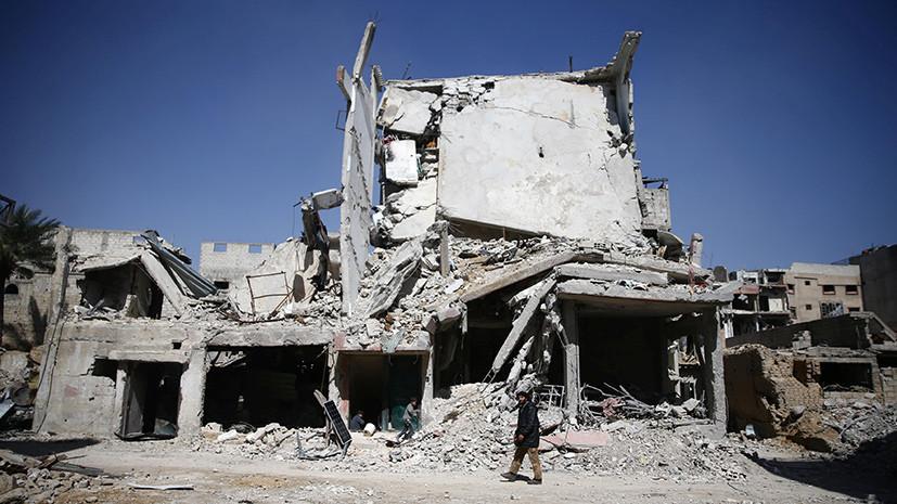Боевики в Восточной Гуте пообещали выпустить жителей в обмен на гуманитарную помощь