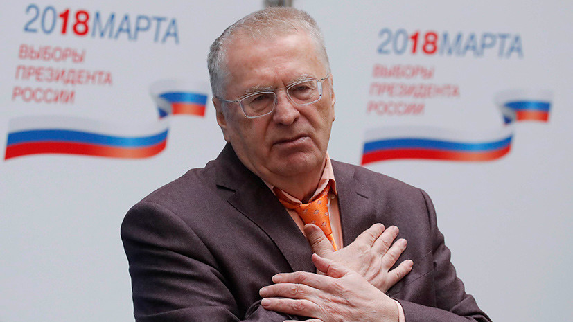 Жириновский заявил, что кандидаты и ЦИК не смогли договориться о смене формата дебатов