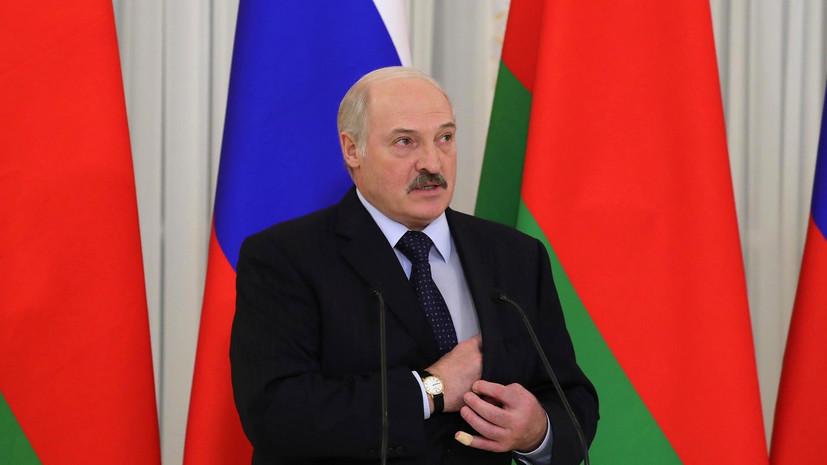 Лукашенко: власть должна быть в одном кулаке