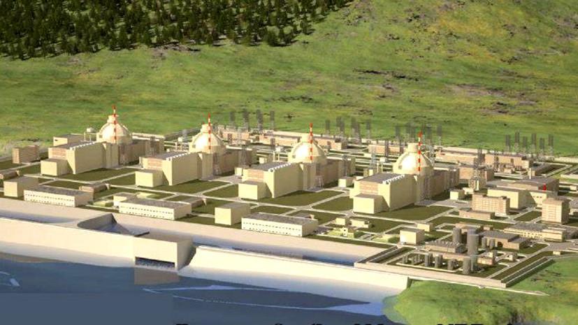 В «Росатоме» назвали дату начала строительства АЭС «Аккую» в Турции