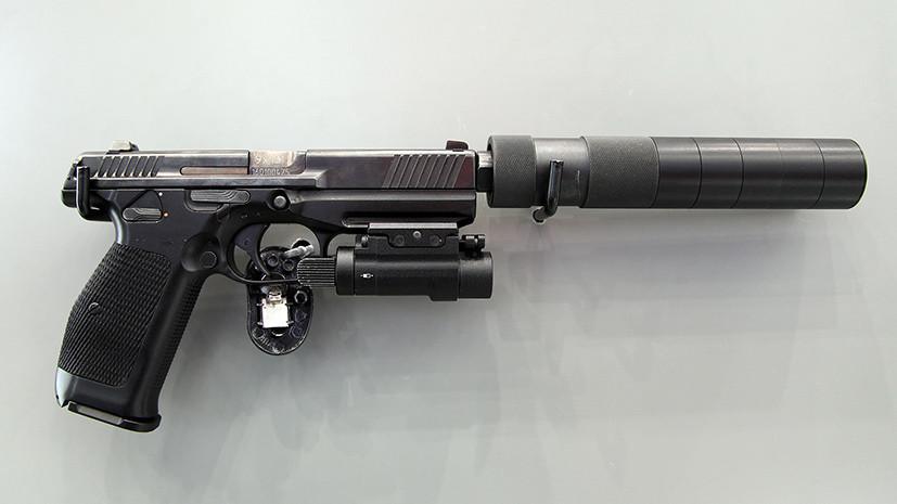 «Калашников» запустит серийное производство нового пистолета Лебедева
