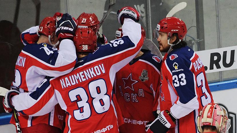 ЦСКА одержал минимальную победу над «Спартаком» во втором матче серии плей-офф КХЛ