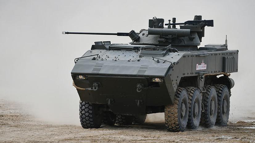 Разработчик рассказал об эффективности колёсного танка в борьбе с терроризмом