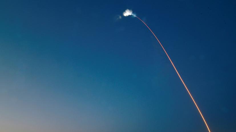 SpaceX произвела запуск ракеты Falcon 9 с испанским спутником