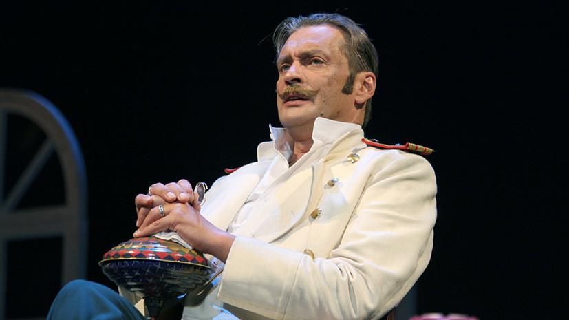 Директор Театра имени Моссовета заявила, что Домогаров остаётся работать в учреждении