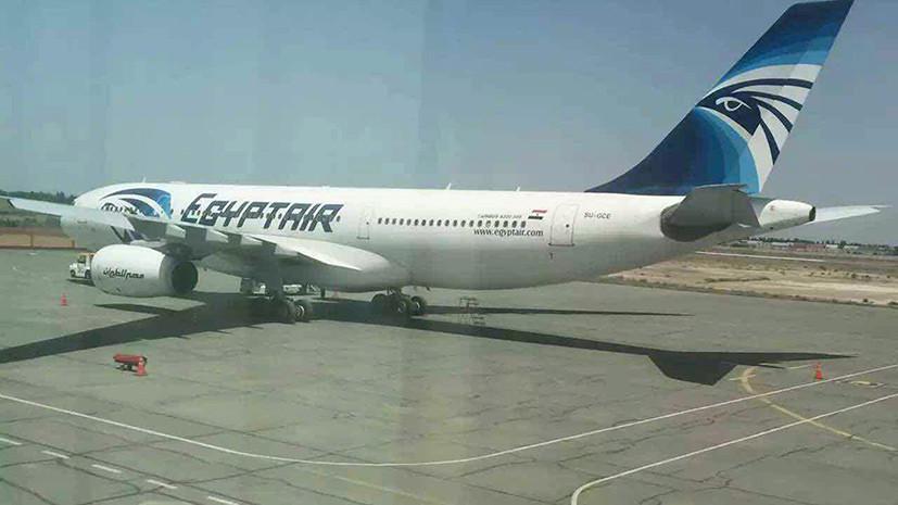 СМИ: Пассажир следовавшего из Омана самолёта попытался ворваться в кабину пилота