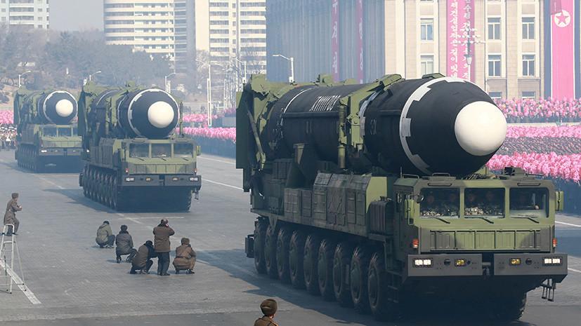 В Сеуле заявили о готовности Пхеньяна приостановить испытания на время переговоров с США
