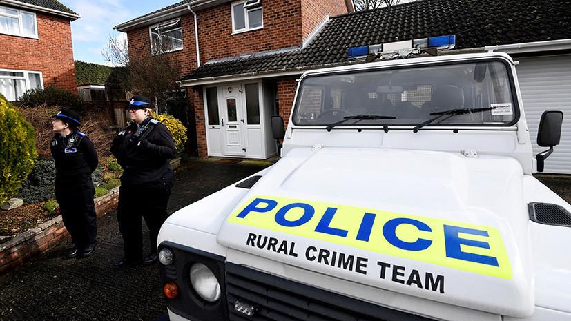 Делом об отравлении в британском Солсбери займётся отдел полиции по борьбе с терроризмом