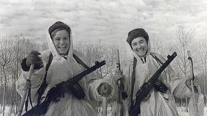 Минобороны опубликовало документы о подвигах женщин в годы войны