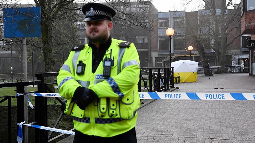 СМИ: Британская полиция рассматривает несколько версий в деле об инциденте в Солсбери