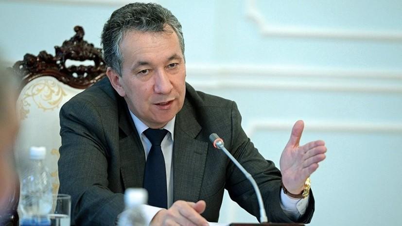 Руководитель аппарата президента Киргизии ушёл с поста по собственному желанию