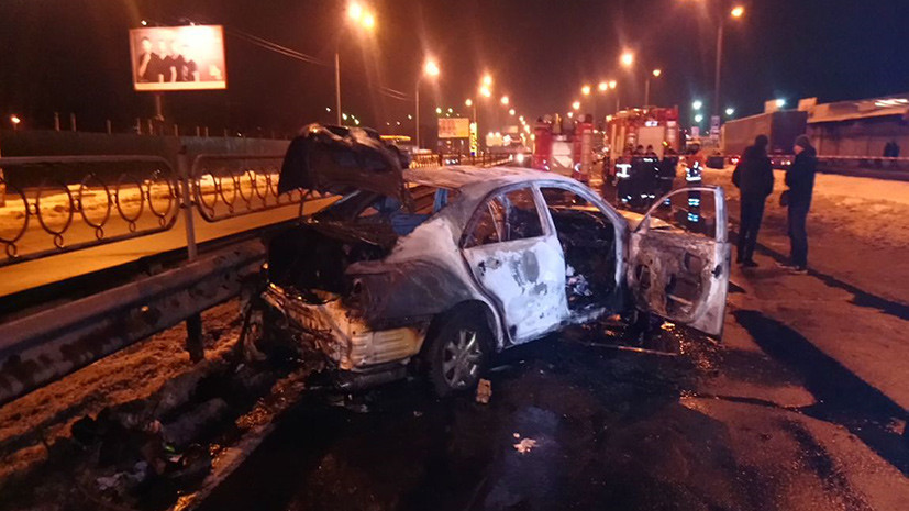 Полиция подтвердила, что в Киеве подорвали гранатой автомобиль