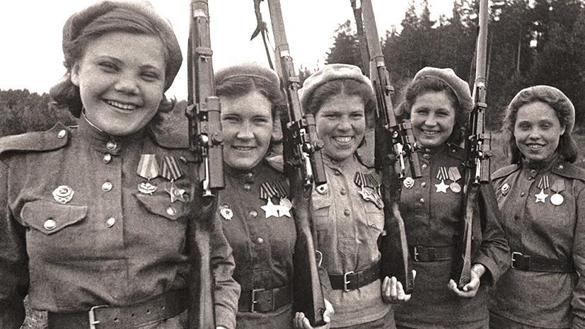 «На фронт их направляло сердце»: какой вклад внесли советские женщины в разгром нацистской Германии