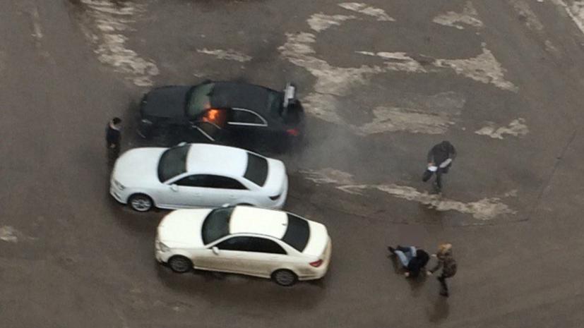 В Ростове-на-Дону возбудили уголовное дело по факту взрыва заминированного Mercedes