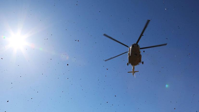 Источник: при крушении вертолёта в Чечне погибли по меньшей мере пять человек