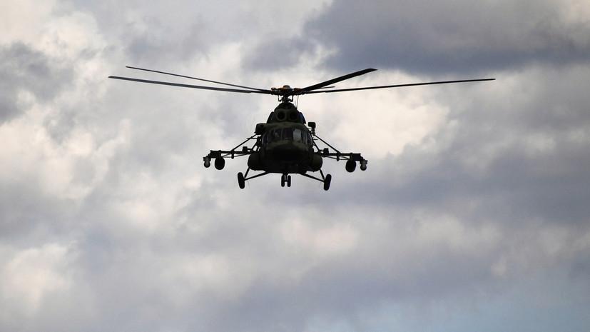 При крушении Ми-8 в Чечне погибли шесть человек